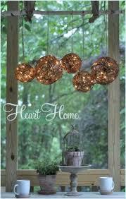 Outdoor Chandelier Diy Easy Diy Outdoor Chandelier Outdoor Chandelier String Lights
