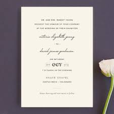 plain wedding invitations plain wedding invitations by design lotus minted