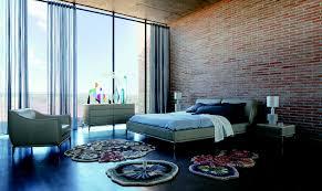 Home Design Bedroom Roche Bobois Ellica Leather Bed Design Philippe Bouix