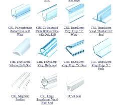 Silicone Shower Door Seal Glass Shower Door Seal 10mm Sliding Rubber Obschenie