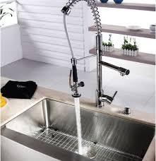 kraus commercial pre rinse chrome kitchen faucet commercial pre rinse chrome kitchen faucet