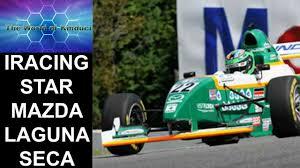 mazda official iracing star mazda official race at laguna seca youtube