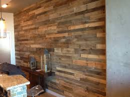 add character to your walls with reclaimed wood restaurant