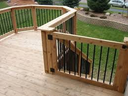 how to install a diy deck gate u2013 blog handyman matters