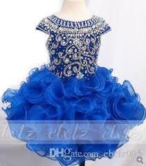 real photo royal blue baby cupcake inant toddler dress