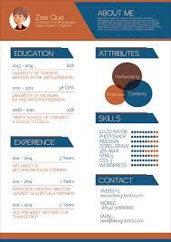 free resume cv template for graphic designers 01 resume design