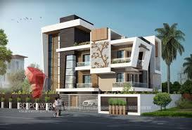 home design 3d elevation 3d bungalow design 3d modern bungalow rendering elevation design