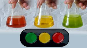 chemical traffic light beautiful chemical experiment youtube