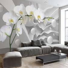 wallpaper bunga lingkaran 3d foto mural wallpaper bunga abstrak lingkaran bola kertas dinding