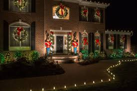 Christmas Decorations For Commercial Windows by Holiday Decorations Christmas Lights Installation New Jersey