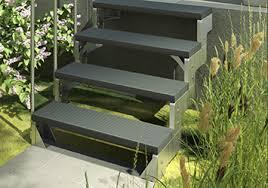 dolle treppe außentreppe dolle gardentop trimax o gitterrost stufen