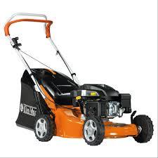 oleo mac g48 pk comfort plus petrol push lawn mower special offer