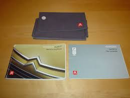 citroen c4 picasso u0026 grand picasso owners handbook c w wallet