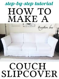 7 Piece Sofa Slipcover by How To Make A Cushion Cover And Other Slipcover Tutorials