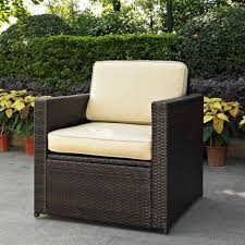 Wicker Deep Seating Patio Furniture by Cushions Henry Link Wicker Replacement Cushions Sunbrella