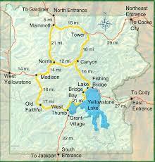grand map lodging yellowstone lodging yellowstone national park map
