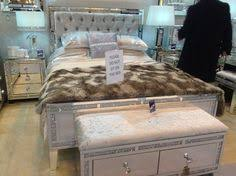 mirrored bed frame with velvet headboard beautiful interiors