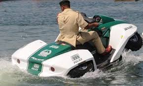 watercar panther dubai police added a quadski to its supercar fleet