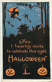 55 best vintage halloween postcards images on pinterest vintage