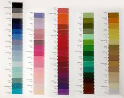 browse shade cards and colour charts to find your perfect colour