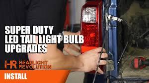 2008 ford f250 tail light bulb 2010 2016 ford super duty led tail light bulb upgrades super