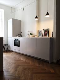 modern kitchen floor sleek modern kitchen herringbone wood floor kitchen pinterest