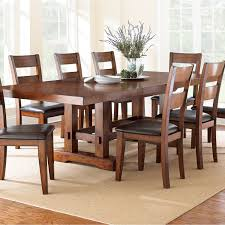 Cherry Dining Room Table And Chairs Ziva Dining 9 Piece Set Dining Sets Kitchens And Room