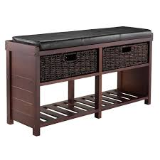 Leather Bench Seat Cushions Storage Bench Seat Cushions Militariart Com