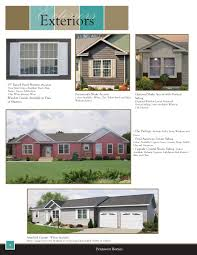Black And White Homes With Accent Red Upgrade Options Buffalo Modular Homes