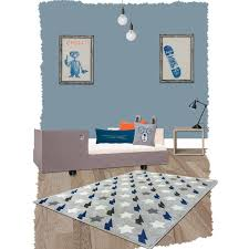 tapis de chambre garcon tapis bolt bleu rectangle par nattiot decoration chambre enfant enfant