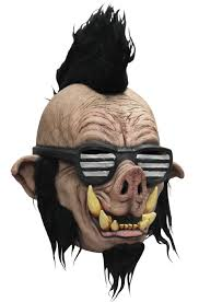 evil pig boar punk teenage mutant ninja turtle jr teen mask ebay