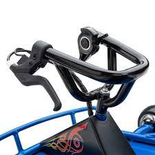razor motocross bike blue u0026 black razor ground force drifting kart go karts review