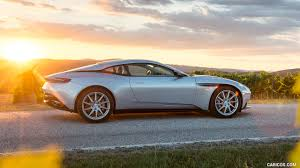 aston martin db11 2017 aston martin db11 lightning silver side hd wallpaper 62