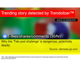 Challenge Deadly Why The Tide Pod Challenge Is Dangerous Potentially Deadly