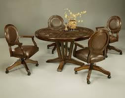 dinette table and chairs with casters chair rattan dining chairs with casters oak dining room chairs