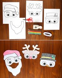 kids u0027 holiday masks to print and color it u0027s always autumn