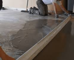 leveling the sub floor envision