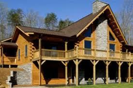 new or unfinished log cabins for sale in nc at grandview peaks