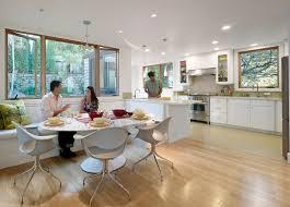 modern kitchen nook interior design