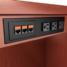 power data outlets customized telecom network video data