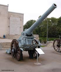 french 75 gun world war one battlefields verdun fleury
