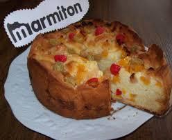 marmiton cuisine facile gâteau facile aux fruits au sirop recette de gâteau facile aux