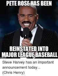 Pete Rose Meme - pete rose has been reinstated into major leaguebaseball inngfipcom