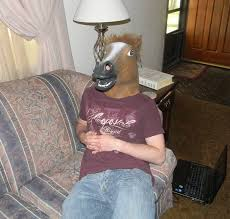 Horse Head Meme - meme of the day horse head mask trigger plug