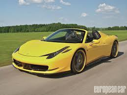 Ferrari 458 Body Kit - 2013 ferrari 458 spider european car magazine