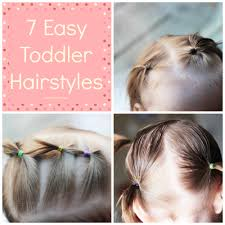How To Make Hairstyles For Girls by Easy Toddler Hairstyles By Simplistically Sassy