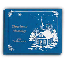 religious personalized cards lights card and