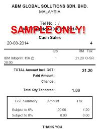 sales tax invoice malaysia gst sap business one on cloud simplified tax invoice
