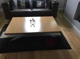 ligne roset yoyo table furniture ligne roset diningcoffee yo yo table and 6 folding chairs