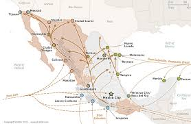 Map Of Sinaloa Mexico by El Chapo Guzman Sinaloa Cartel Not Guilty Charges In Us Business